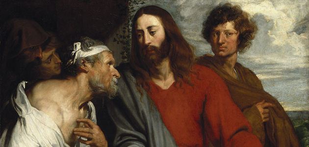 The Healing of the Paralytic - Anthony van Dyck