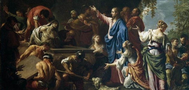 """The Raising of Lazarus"" - Francesco Trevisani"