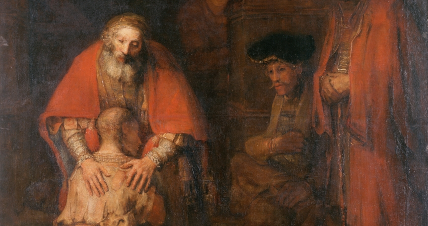 'The Return of the Prodigal Son' - Rembrandt